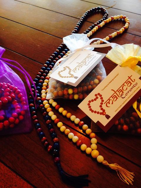 Hand Made Wood Mala Beads