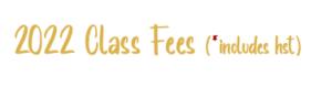 2022 fees